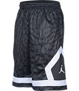 Boys' Jordan Flight Diamond Knit Allover Print Basketball Shorts