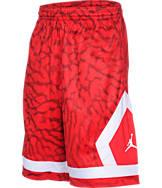 Boys' Jordan Flight Diamond Knit Allover Print Basketball Shorts
