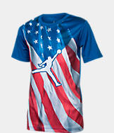 Kids' Air Jordan Sublimated Flag T-Shirt