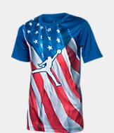 Kids' Air Jordan Sublimated Flag T-Shirt