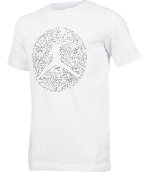 Boys' Air Jordan Dub Zero Laser T-Shirt