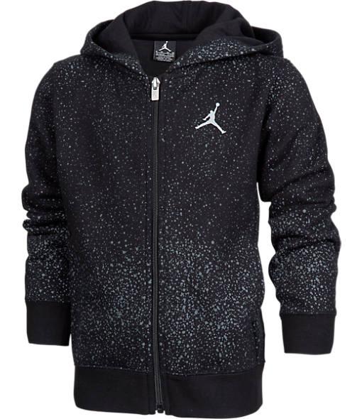 Boys' Jordan Flight Fleece Full-Zip Hoodie