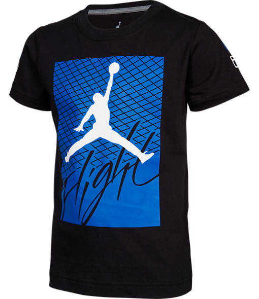Boys' Jordan Retro 4 Flight T-Shirt