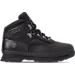 Right view of Timberland Preschool Eurohiker in Black