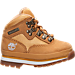 Right view of Boys' Toddler Timberland Euro Hiker Boots in Wheat