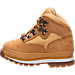 Left view of Boys' Toddler Timberland Euro Hiker Boots in Wheat