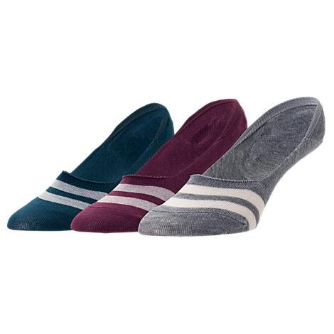 Women's Sof Sole Varsity 3-Pack Footie Socks