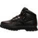 Left view of Timberland Kids Eurohiker in Black