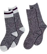 Women's Sof Sole 2-Pack Varsity Crew Socks