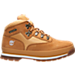 Right view of Kids' Grade School Timberland Euro Hiker Boots in Wheat