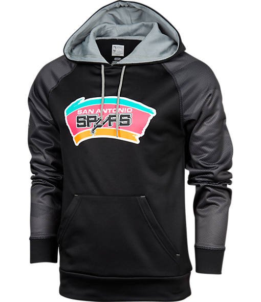 Men's Majestic San Antonio Spurs NBA Armor II Hoodie