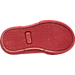 Bottom view of Boys' Toddler Polo Ralph Lauren Faxon II Casual Shoes in Triple Red Nylon
