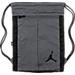 Front view of Jordan Unconscious Gymsack in Grey/Black