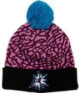 Kids' Jordan 5 Pom Beanie Hat