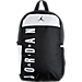 Front view of Jordan Daybreaker Athletic Backpack in Black/White