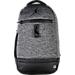 Front view of Jordan Skyline Fleece Backpack in Black Heather