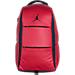 Front view of Air Jordan Alias Backpack in Red/Black