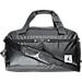 Front view of Air Jordan Breakfast Club Duffel Bag in Black/Silver