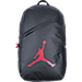 Front view of Jordan Crossover Backpack in Black/Gym Red