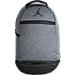 Front view of Jordan Jumpman Skyline Backpack in Dark Grey Heather
