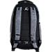 Back view of Jordan Jumpman Skyline Backpack in Dark Grey Heather