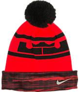 Youth Nike LeBron Pom Knit Beanie Hat