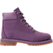 Right view of Girls' Grade School Timberland 6 Inch Classic Boots in Montana Grape