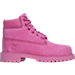 Right view of Girls' Preschool Timberland 6 Inch Classic Premium Boots in Pink
