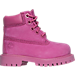 Right view of Girls' Toddler Timberland 6 Inch Classic Premium Boots in Pink