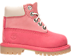 Girls' Toddler Timberland 6 Inch Classic Premium Boots