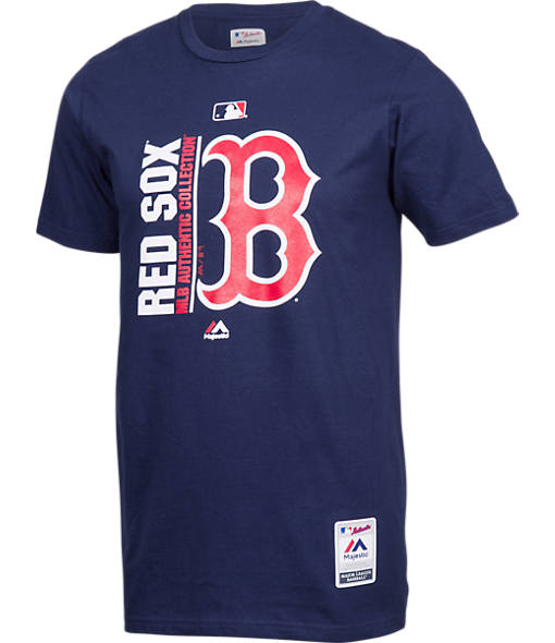 Men's Majestic Boston Red Sox MLB Team Icon T-Shirt
