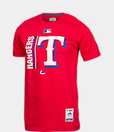 Men's Majestic Texas Rangers MLB Team Icon T-Shirt