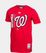 Men's Majestic Washington Nationals MLB Team Icon T-Shirt