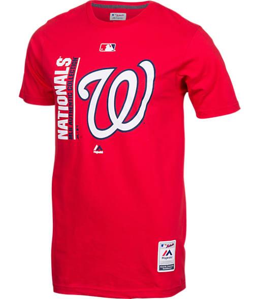 Men's Majestic Washington Nationals MLB Team Icon T-Shirt