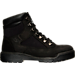 Right view of Men's Timberland 6 Inch Field Boots in Black Waterbuck