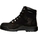 Left view of Men's Timberland 6 Inch Field Boots in Black Waterbuck