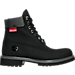 Right view of Men's Timberland 6 inch Premium Helcor Boots in Black