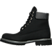 Left view of Men's Timberland 6 inch Premium Helcor Boots in Black