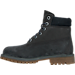 Left view of Boys' Grade School Timberland 6 Inch Classic Premium Boots in Navy