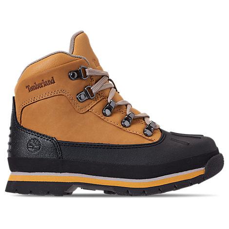 Boys' Preschool Euro Hiker Shell Toe Boots