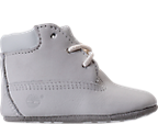 Unisex Infant Timberland Crib Booties with Hat