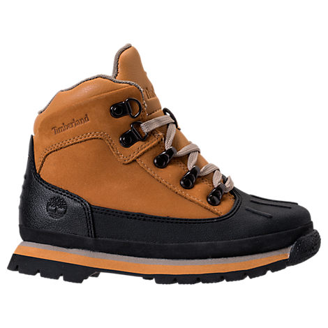 Boys' Grade School Euro Hiker Shell Toe Boots
