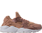 Women's Nike Air Huarache Run Premium TXT Casual Shoes