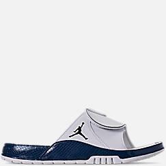 조던 하이드로4 레트로 슬라이드 샌들 슬리퍼 Nike Mens Jordan Hydro XI Retro Slide Sandals,White/Black