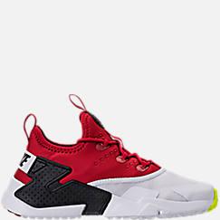 나이키 보이즈 프리 스쿨 캐쥬얼 스니커즈 Boys Preschool Nike Huarache Drift Casual Shoes,Gym Red/White/Black/Volt