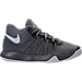 Right view of Boys' Preschool Nike KD Trey 5 V Basketball Shoes in Cool Grey/White/Wolf Grey