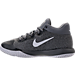 Left view of Boys' Preschool Nike KD Trey 5 V Basketball Shoes in Cool Grey/White/Wolf Grey