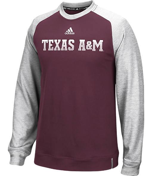 Men's adidas Texas A&M Aggies College Player Crew Sweatshirt