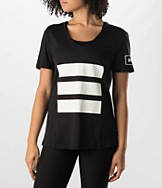 Women's adidas Originals Berlin Logo 3-Stripes T-Shirt