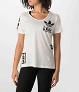 Women's adidas Originals Berlin Logo Badge T-Shirt